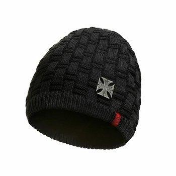 czapka zimowa WEST COAST CHOPPERS - METAL PATCH BEANIE BLACK
