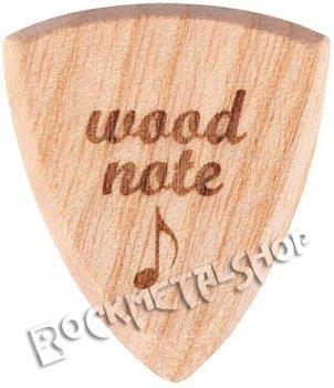 drewniana kostka do gitary WOODNOTE Bull Shield - JESION