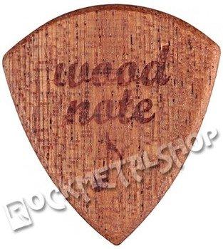 drewniana kostka do gitary WOODNOTE Tinyshield - MAHOŃ SAPELE