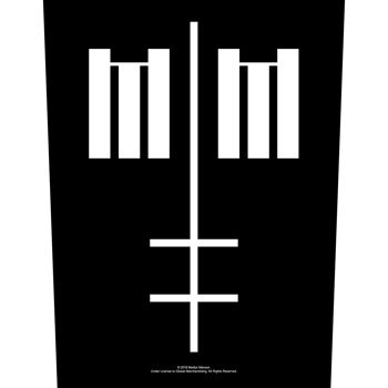 ekran MARILYN MANSON - CROSS LOGO