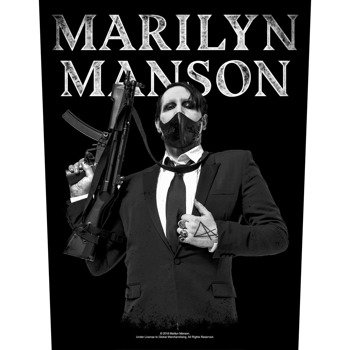 ekran MARILYN MANSON - MACHINE GUN
