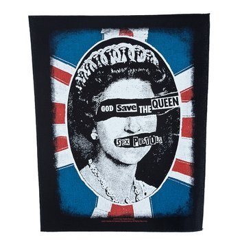 ekran SEX PISTOLS - GOD SAVE THE QUEEN