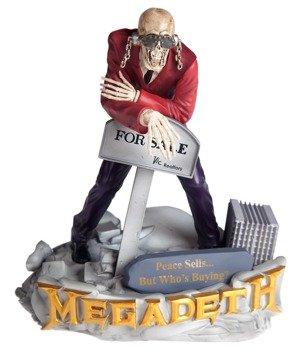 figurka MEGADETH - ROCK ICONZ STATUE PEACE SELLSVIC RATTLEHEAD 23 cm, limitowana edycja