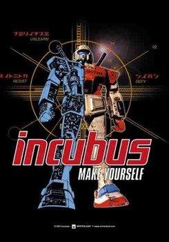 """flaga INCUBUS """"MAKE YOURSELF"""""""