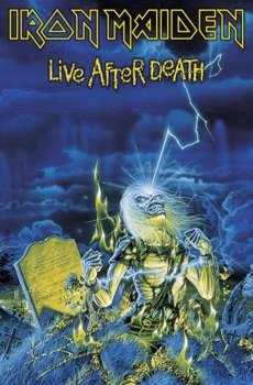 flaga IRON MAIDEN - LIVE AFTER DEATH