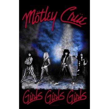 flaga MOTLEY CRUE - GIRLS, GIRLS, GIRLS