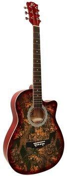 gitara akustyczna 3/4 KG CX S017C Cutaway Oak