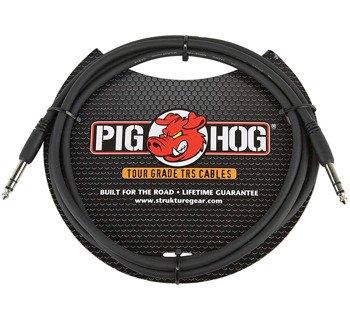 kabel audio PIG HOG PTRS06 / JACK prosty/prosty 6,3mm STEREO TRS / 1,8m