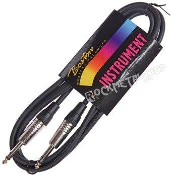 kabel instrumentalny BOSTON 2m JACK prosty/prosty 6,3mm STEREO