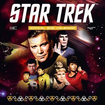 kalendarz STAR TREK 2021
