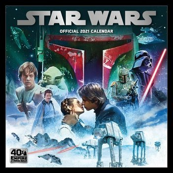 kalendarz STAR WARS 2021