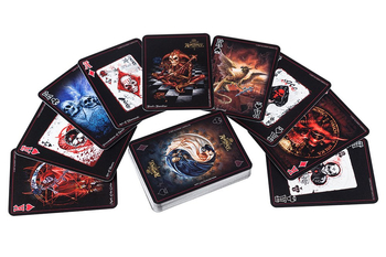 karty do gry THE BLACK ARCANA PLAYING CARDS [CARD5] Alchemy Gothic