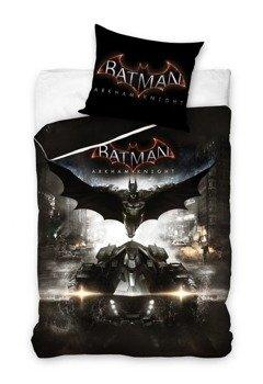komplet pościelowy BATMAN - ARKHAM KNIGHT, kołdra (160*200) + poduszka (70*80)