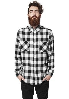 koszula CHECKED FLANELL blk/wht
