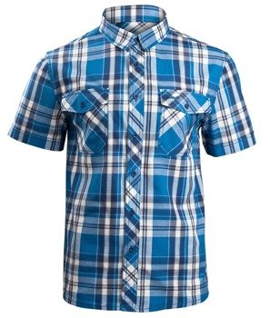 koszula ROADSTAR SHIRT, 1/2 SLEEVE - BLUE