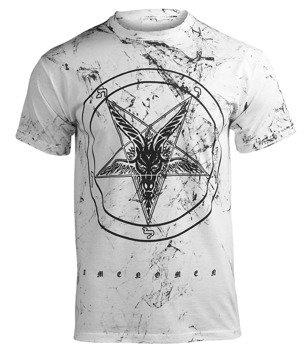 koszulka AMENOMEN - GOAT (OMEN001KM WHITE ALLPRINT BLACK)