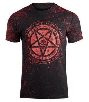 koszulka AMENOMEN - PENTAGRAMUS (OMEN046KM ALLPRINT RED)