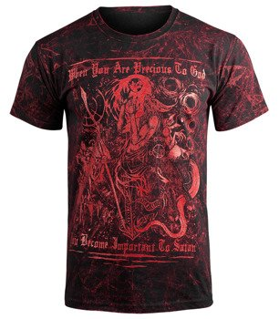koszulka AMENOMEN - WHEN YOU ARE PRECIOUS... (OMEN021KM ALLPRINT RED)