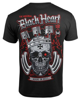 koszulka BLACK HEART - KING ROAD BLACK