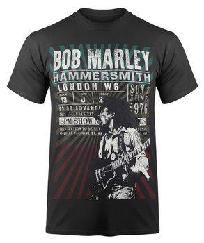 koszulka BOB MARLEY - HAMMERSMITH '76 ekologiczna