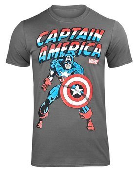 koszulka CAPTAIN AMERICA ciemnoszara