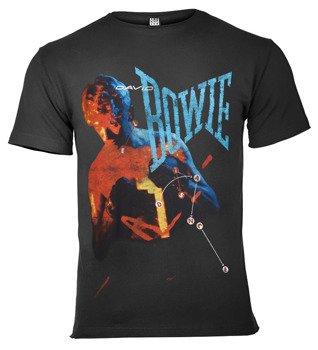 koszulka DAVID BOWIE - LET'S DANCE ciemnoszara