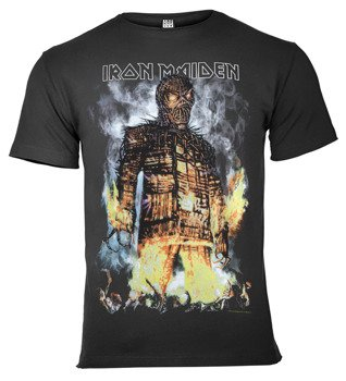 koszulka IRON MAIDEN - THE WICKER MAN ciemnoszara