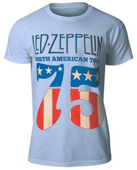 koszulka LED ZEPPELIN - 1975 NORTH AMERICAN TOUR