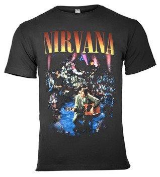 koszulka NIRVANA - LIVE IN NEW YORK ciemnoszara