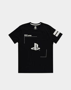 koszulka PLAYSTATION - BLACK & WHITE LOGO