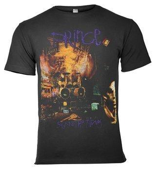 koszulka PRINCE - SIGN O THE TIMES ciemnoszara