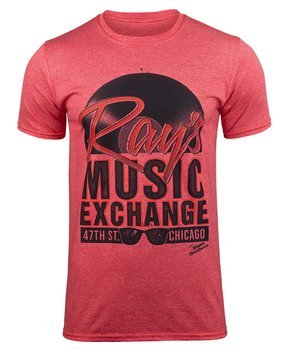 koszulka THE BLUES BROTHERS - RAYS MUSIC EXCHANGE czerwona
