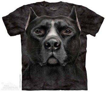 koszulka THE MOUNTAIN - BLACK PIT BULL, barwiona