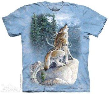 koszulka THE MOUNTAIN - HEART SONG, barwiona