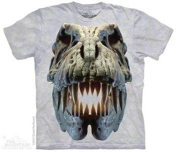 koszulka THE MOUNTAIN - SILVER REX SKULL, barwiona