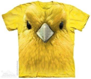 koszulka THE MOUNTAIN - YELLOW WARBLER, barwiona