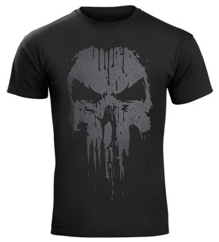 koszulka THE PUNISHER - LOGO czarna