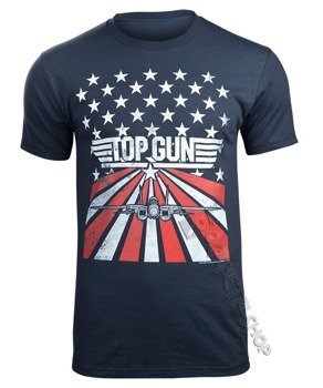 koszulka TOP GUN - STARS STRIPES