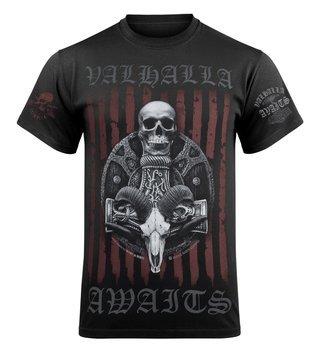 koszulka VICTORY OR VALHALLA - VIKING SHIELD