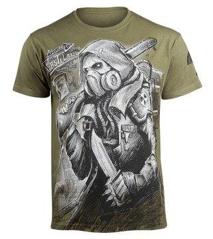 koszulka WASTELAND - POST-APOCALYPSE oliwkowa