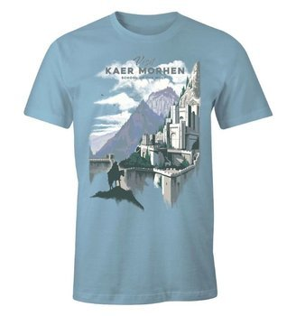 koszulka WIEDŹMIN / THE WITCHER - VISIT KAER MORHEN