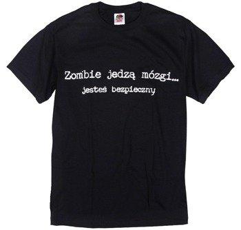 koszulka ZOMBIE JEDZĄ MÓZGI...