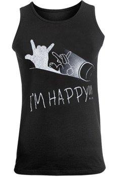 koszulka na ramiączkach I'M HAPPY!!!