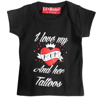 koszulka niemowlęca DARKSIDE - I LOVE MY MUM AND HER TATTOOS