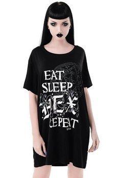 koszulka nocna KILL STAR - HEX & REPEAT