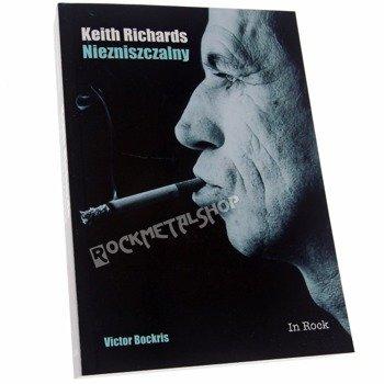 książka KEITH RICHARDS NIEZNISZCZALNY autor: Victor Bockris