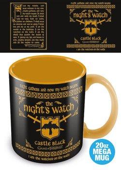 kubek/kufel GAME OF THRONES - THE NIGHT'S WATCH, duży 500 ml