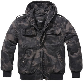 kurtka FELDBLOUSON WINTER blackcamo