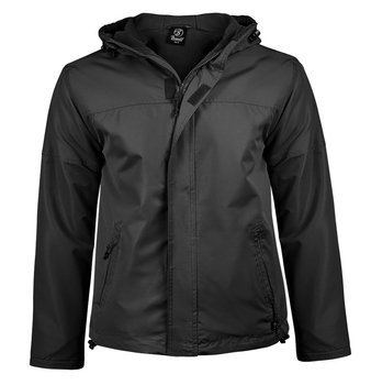 kurtka WINDBREAKER FRONTZIP black