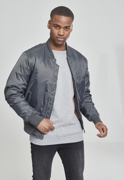 kurtka flyers BASIC BOMBER cool grey